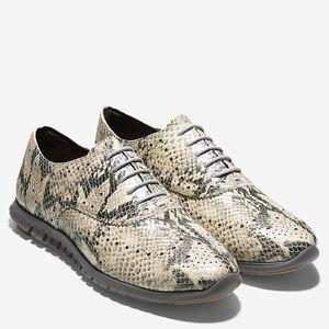 Cole Haan wing tip zero grand snake sneaker